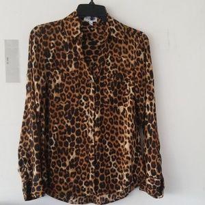 Beautiful leopard print blouse